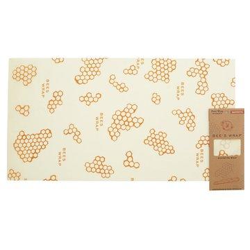 Bee's Wrap, Woskowana organiczna bawełna do zawijania bagietki, XXL, 35,5 x 66 cm, 1 szt. BEE'S WRAP