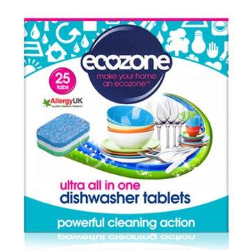 Ecozone, Tabletki do Zmywarki ULTRA, 25 szt. ECOZONE