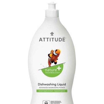 Attitude, Płyn do mycia naczyń, Zielone Jabłuszko i Bazylia (Green Apple i Basil), 700 ml ATTITUDE