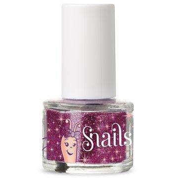 Brokat do paznokci dla dzieci Snails - Purple Red