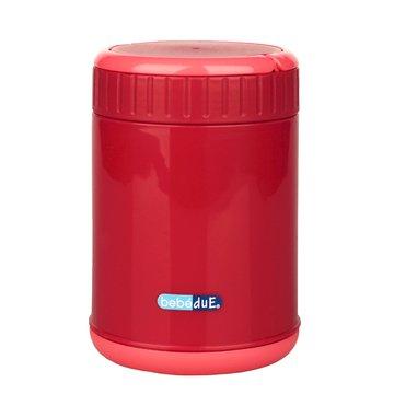 Bebe Due - Pojemnik termiczny na jedzenie C&F Bebedue; czerwony; 500 ml
