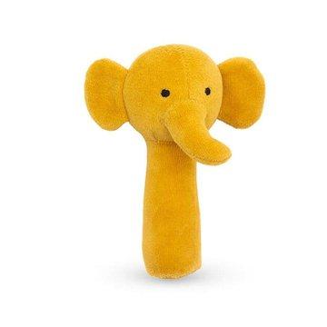 Jollein - Baby & Kids - Jollein - miękka grzechotka Elephant Mustard