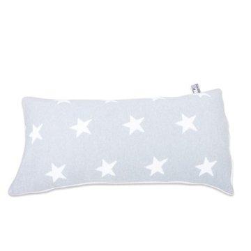 Baby's Only, Star Poduszka z tkaną powłoczką, 60x30cm, Jasnoszary/Biały, WYPRZEDAŻ -50% BABY'S ONLY