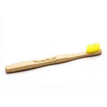 Humble Brush, Bambusowa szczoteczka do zębów dla dzieci, UltraSoft, żółta HUMBLE BRUSH
