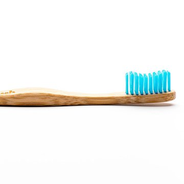 Humble Brush, Bambusowa szczoteczka do zębów dla dorosłych, Medium, niebieska HUMBLE BRUSH