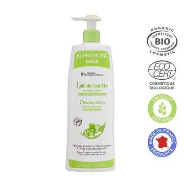 Alphanova Bebe Organiczne mleczko z oliwą do mycia niemowląt, 500 ml ALPHANOVA BEBE