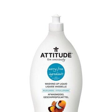 Attitude, Płyn do mycia naczyń, Kwiaty Polne (Wildflowers), 700 ml ATTITUDE