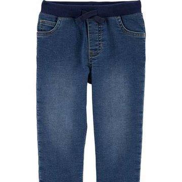 Carter's - Jeansy wiązane w pasie - 110 cm
