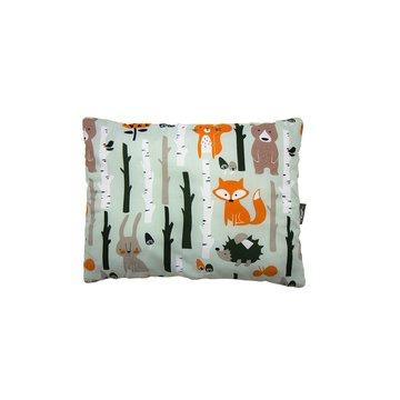 PULP, Poduszka Minky Las Pomarańczowy 35cm x 45cm Pulp