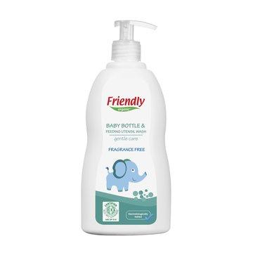 Friendly Organic, Płyn do mycia butelek dziecięcych, bezzapachowy, 500ml Dispenser FRIENDLY ORGANIC