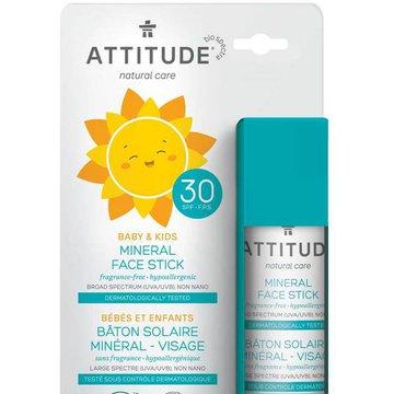 Attitude Baby Sztyft do twarzy i ust SPF30 18,4 g ATTITUDE