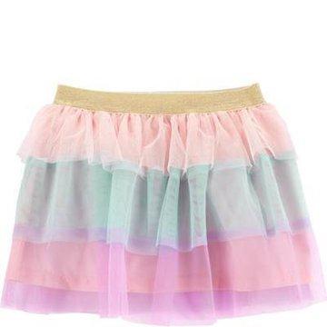 Carter's - Tęczowa spódnica z tiulu - 104 cm
