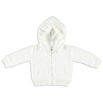 Baby's Only, Sweterek rozpinany z kapturem Biały, rozmiar 68 SUPER PROMOCJA -50% BABY'S ONLY