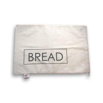 """Bag-again, Worek z organicznej bawełny z nadrukiem """"BREAD"""", 47 x 31 cm BAG-AGAIN"""