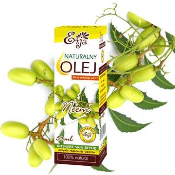 Etja- olejki - Etja, Olej Neem z Miodoli Indyjskiej, 50ml