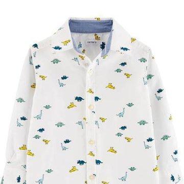 Carter's - Koszula z drobnym nadrukiem - 110 cm