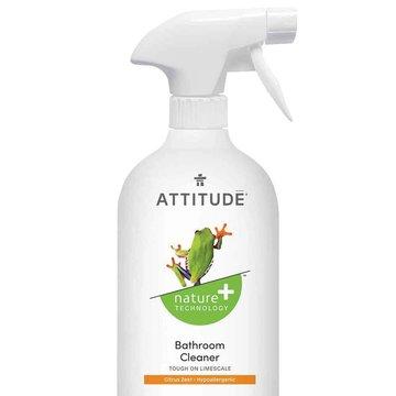 Attitude, Płyn do czyszczenia łazienki Skórka Cytrynowa (Citrus Zest), 800 ml ATTITUDE