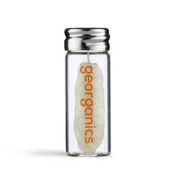 Georganics, Naturalna Nić Dentystyczna dla dzieci Sweet Orange, 30m GEORGANICS