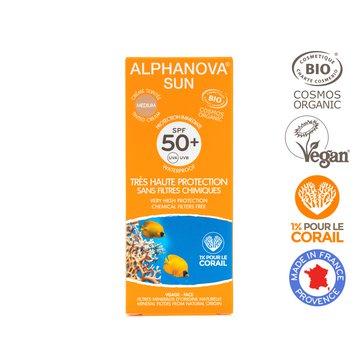 Alphanova Sun Bio Krem Przeciwsłoneczny, filtr SPF50+ BB, 50g ALPHANOVA SUN