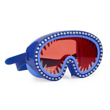 Maska do pływania Rekin, czerwone soczewki, Bling2O Bling2o