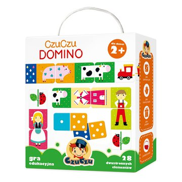 CzuCzu 6107882 Gra Domino 2+