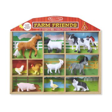 Melissa&Doug® - Melissa, Figurki zwierząt – farma