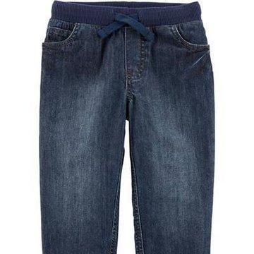 Carter's - Jeansy wiązane w pasie - 98 cm
