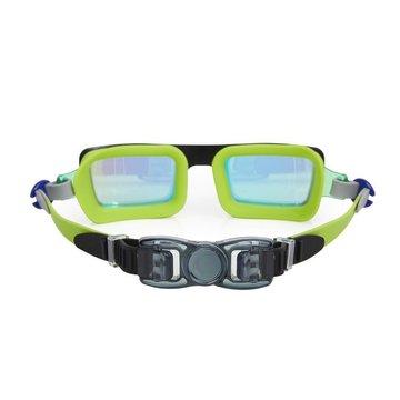 Okulary do pływania Electric 80 s, limonkowe, Bling2O Bling2o