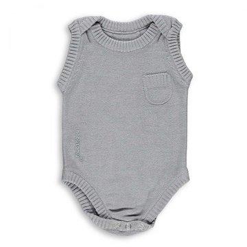 Baby's Only, Body tkane, Jasnoszare, rozmiar 62 SUPER PROMOCJA -50% BABY'S ONLY