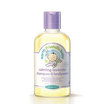Earth Friendly Baby, Organiczny szampon i płyn do mycia 2w1 o zapachu lawendy, 250ml