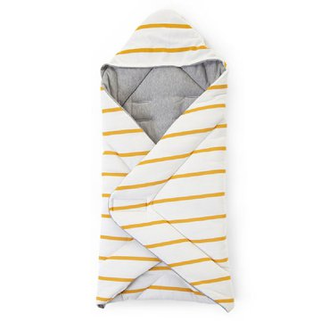 Childhome Kocyk 80 x 100 cm Jersey Ochre Stripes CHILDHOME