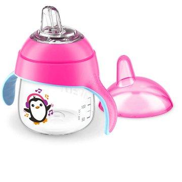 AVENT SCF746/03 Kubek różowy pingwinek 6+