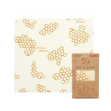 Bee's Wrap, Woskowana organiczna bawełna do zawijania, rozm. L 33 x 35 cm BEE'S WRAP