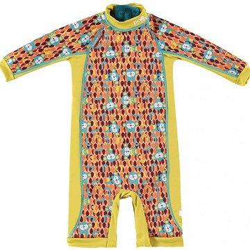 Close, Ocieplany kombinezon do pływania dla dziecka, Małpki (Ticky and Bert), X-Large (24-36 miesięcy), OSTATNI RAZ W OFERCIE CL