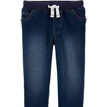 Carter's - Jeansy wiązane w pasie - 104 cm