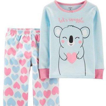 Carter's - Piżama polarowo bawełniana koala - 104 cm