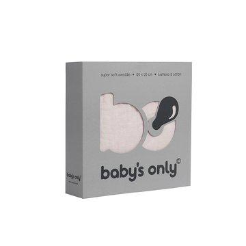 Baby's Only, PROMOCJA -50%, Otulacz bambusowy, różowy, 120x120cm, WYPRZEDAŻ BABY'S ONLY