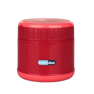 Bebe Due - Pojemnik termiczny na jedzenie C&F Bebedue; czerwony; 300 ml