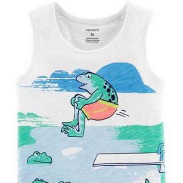 Carter's - Koszulka bez rękawów Ryba - 92 cm
