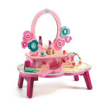 Djeco - Drewniana toaletka - rowa DJ06553