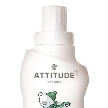 Attitude, Płyn do płukania ubranek dziecięcych Gruszkowy Nektar (Pear Nectar) 40 płukań - 1000 ml ATTITUDE