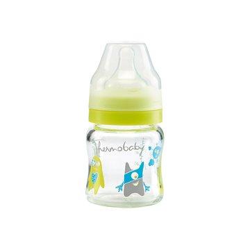 Butelka szklana Monster Thermobaby; 120 ml; kolorowa; 2 szt.