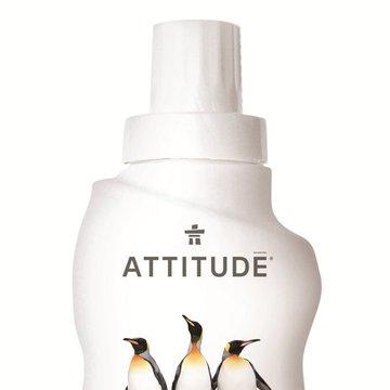Attitude, Płyn do prania, Skórka Cytrynowa (Citrus Zest), 35 prań, 1050 ml ATTITUDE