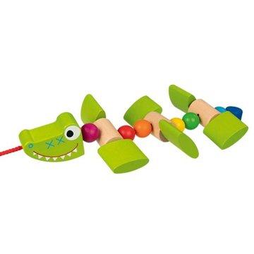 Goki - Krokodyl na sznurku do ciągnięcia