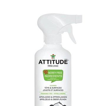 Attitude, Płyn do czyszczenia zabawek i powierzchni w pokoju dziecka Bezzapachowy (fragrance free) 475 ml ATTITUDE
