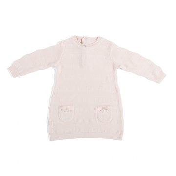 Baby's Only, Tkana sukienka w prążki, Różowa, rozmiar 50/56 SUPER PROMOCJA -50% BABY'S ONLY