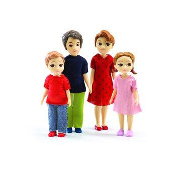 Djeco - Figurki - rodzina Tomasa & Marion DJ07810