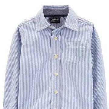 Carter's - Koszula w drobne paski - 110 cm
