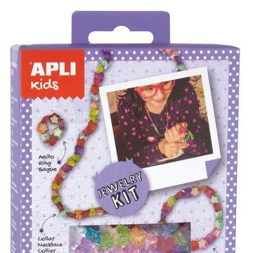 Mini zestaw do tworzenia biżuterii Apli Kids - Star