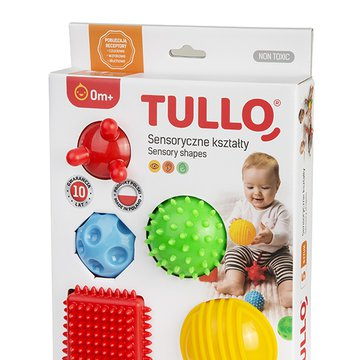 TULLO 458 Sensoryczne kształty 5 szt